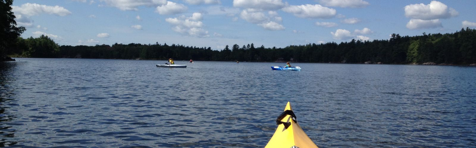 Summer kayaking, events